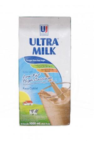 Ultra Milk Rasa Coklat 1000 ml